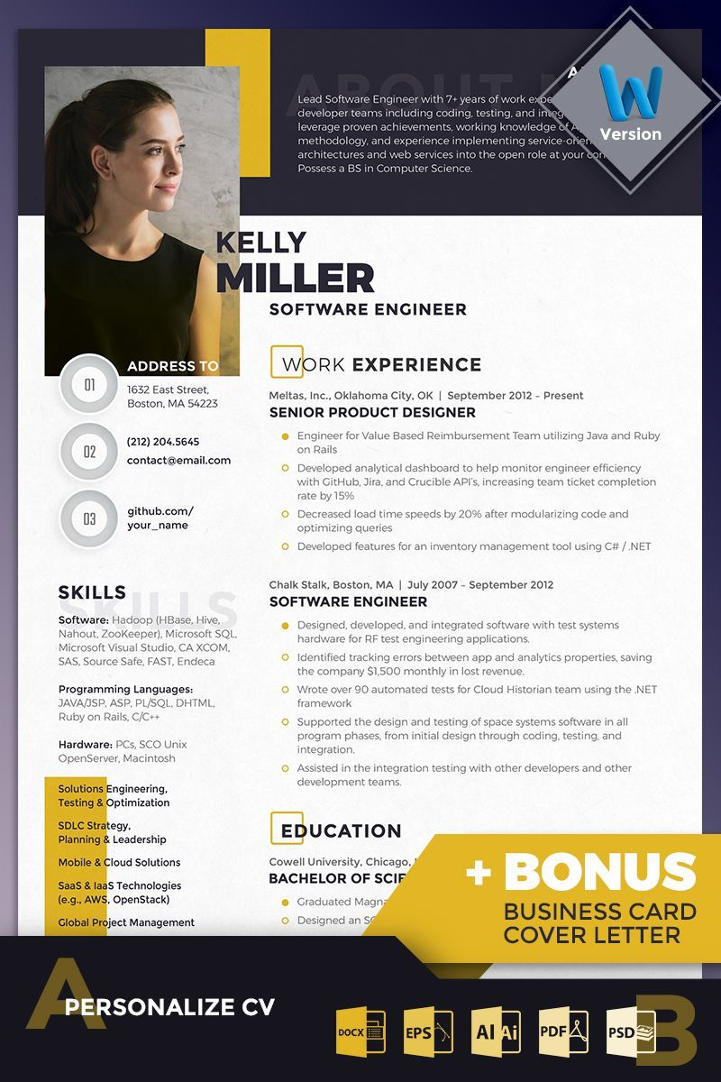 Resume Templates And Resume Examples With Images Resume Design