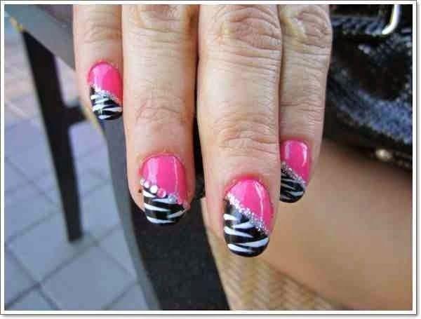 Zebra Print Nails Design Ideas Imgd9bc95ecebd720bb5 Nail Art