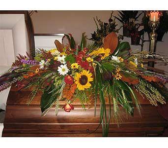 Casket Sprays For Men Wildflower Casket Spray Sympathy Amp Funeral Flowers Funeral Service