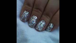 Super Sparkly Shellac Rockstar Nails Nails Funky Nails Rock Star Nails