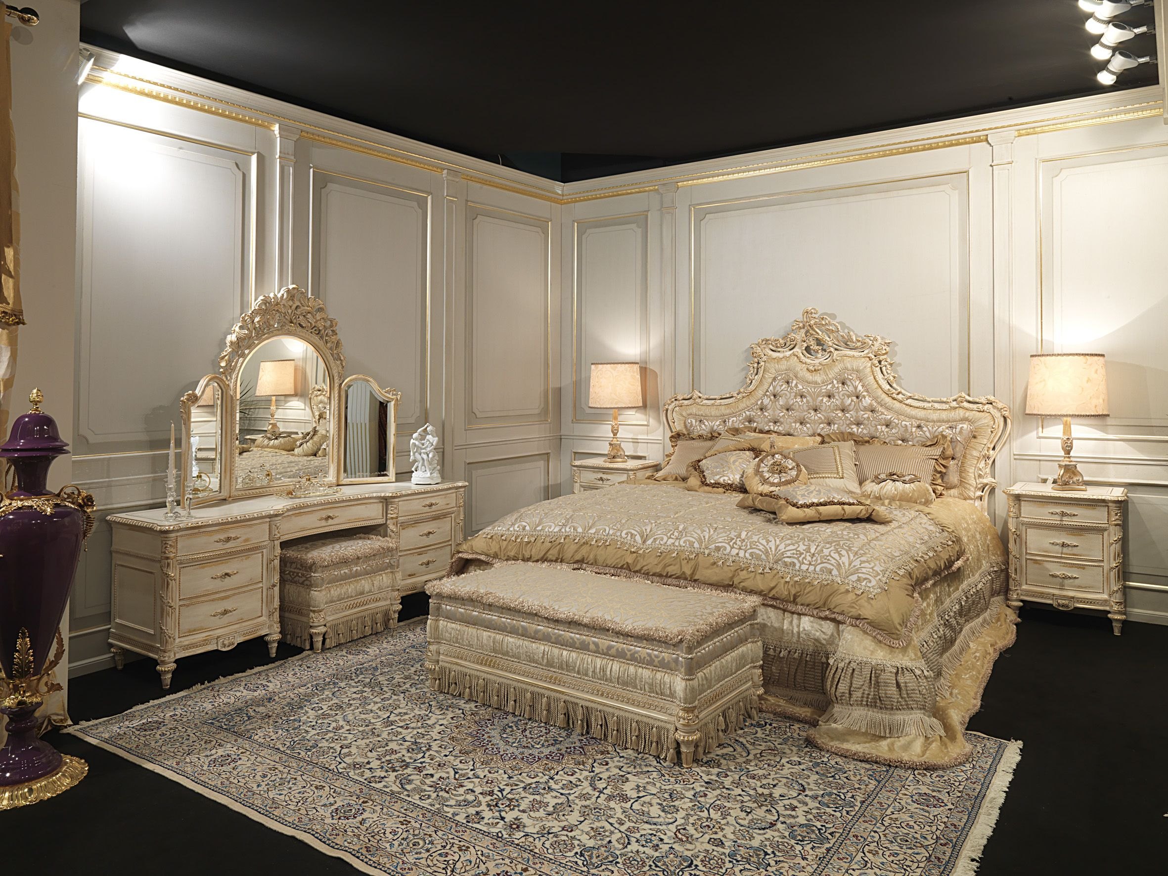 Louis xvi bedroom furniture - Classic Furniture Vimercati Meda Showroom 03 Www Vimercatimeda It