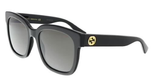 f23e2a5908e Gucci Black Square Ladies Sunglasses - GG0034S-001