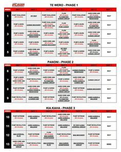 tapout xt workout calendar pdf download