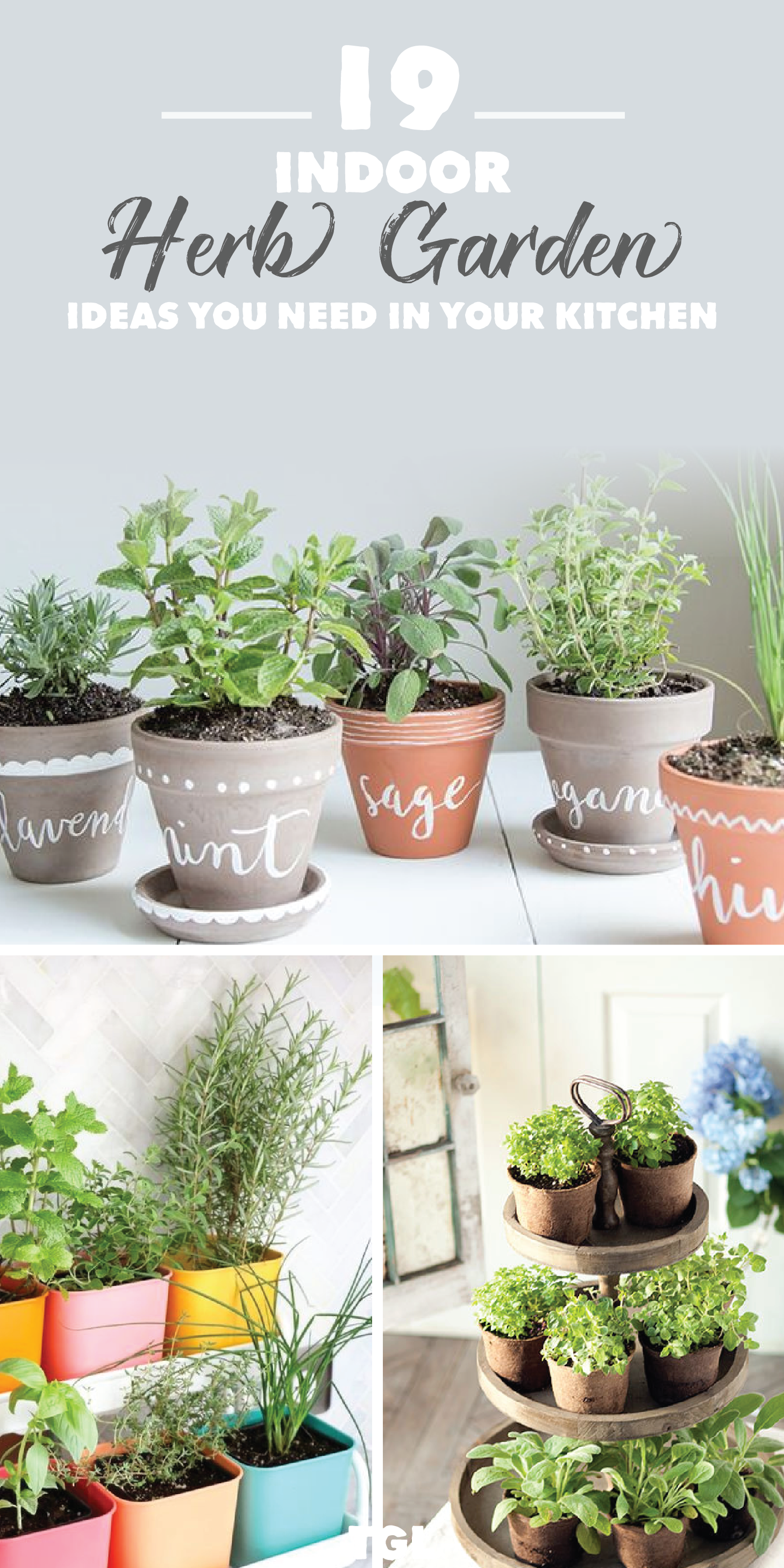 19 Easy Indoor Herb Garden Ideas To Add To Your Kitchen For Year