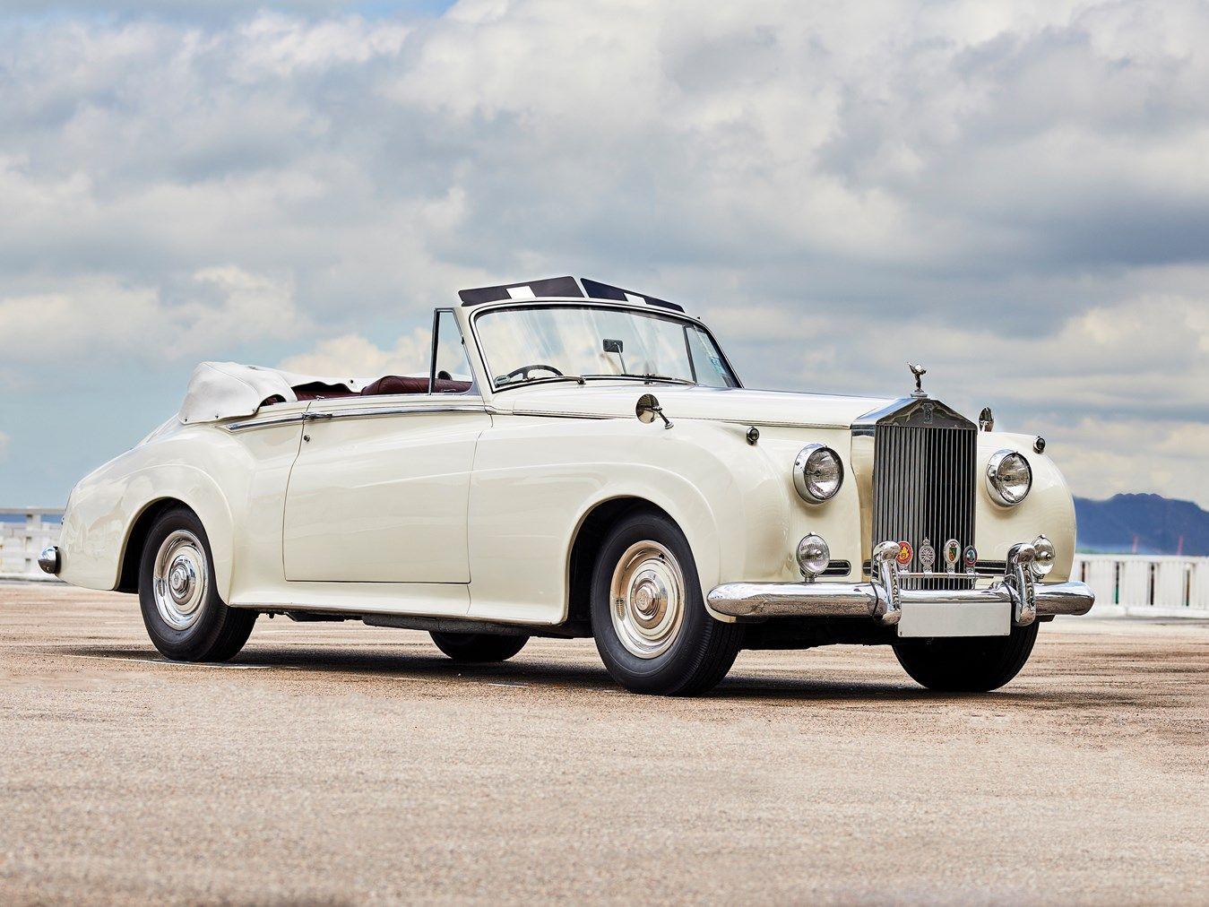 1960 Rolls Royce Silver Cloud Ii Drophead Coupe Adaptation By H J