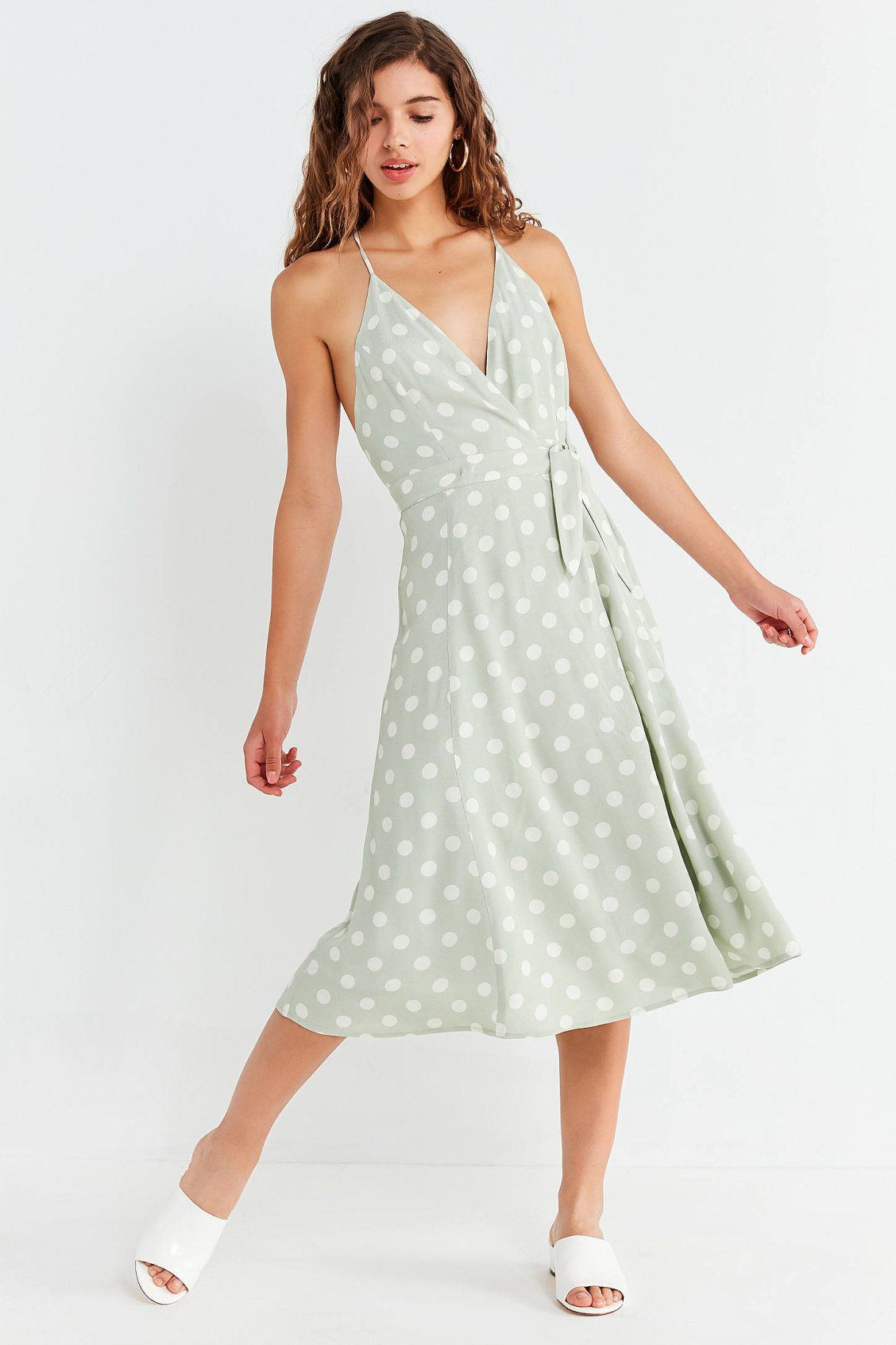 d9927ac07f Capulet Simona Polka Dot Midi Wrap Dress