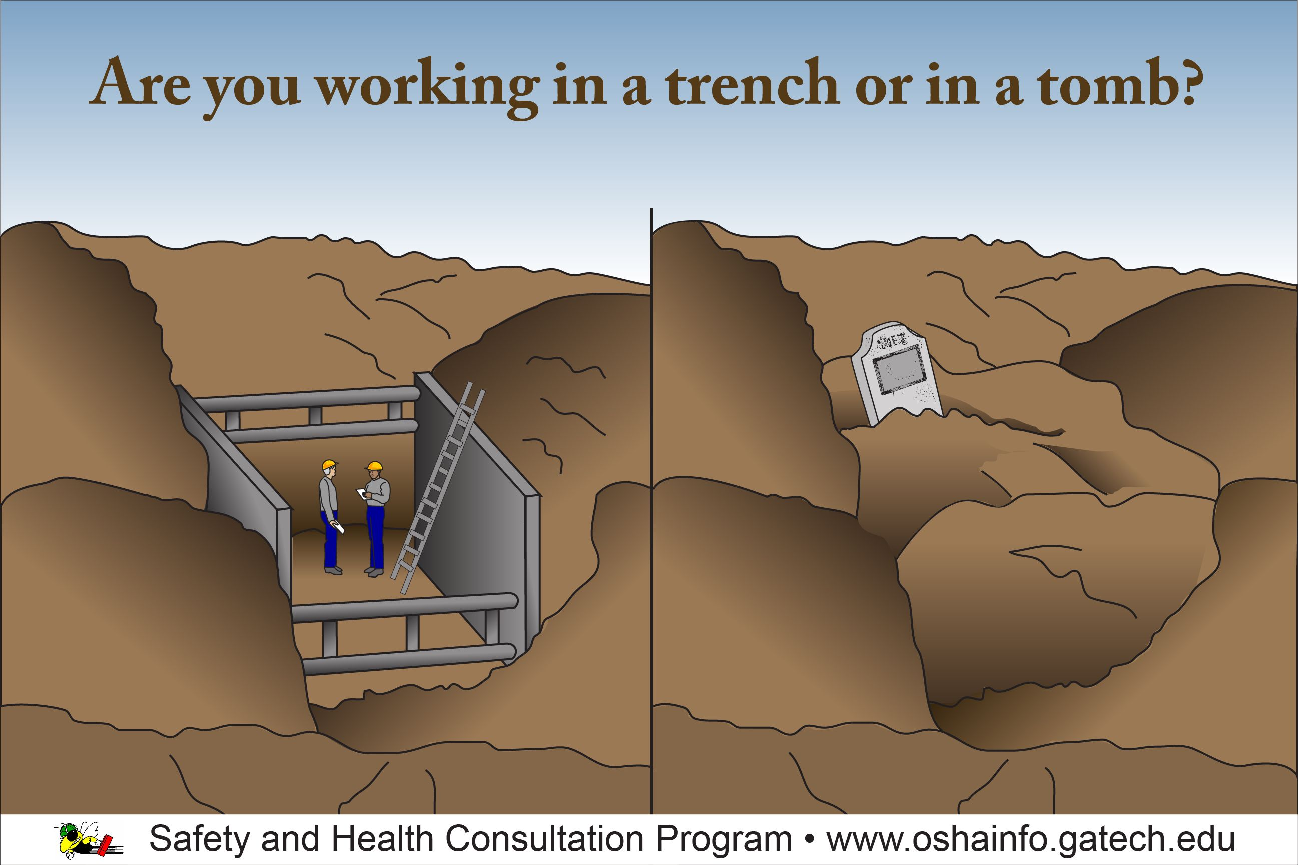Safety In Construction Training Excavations Trenching Construction Safety Excavation Workplace Safety