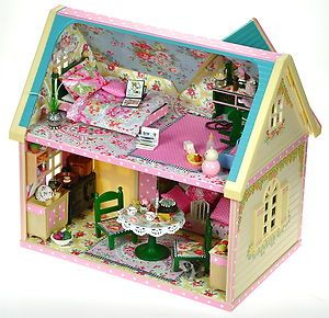 Sylvanian Families Cath Kidston Decorated House Cottage Furniture Accessories