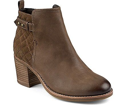 Sperry Top-Sider Ambrose Quilted Bootie - a quilted bootie, perfect for fall with a pair of joggers.