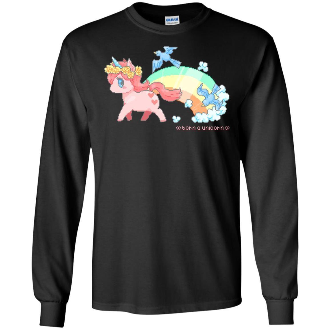 Born A Unicorn Shirt