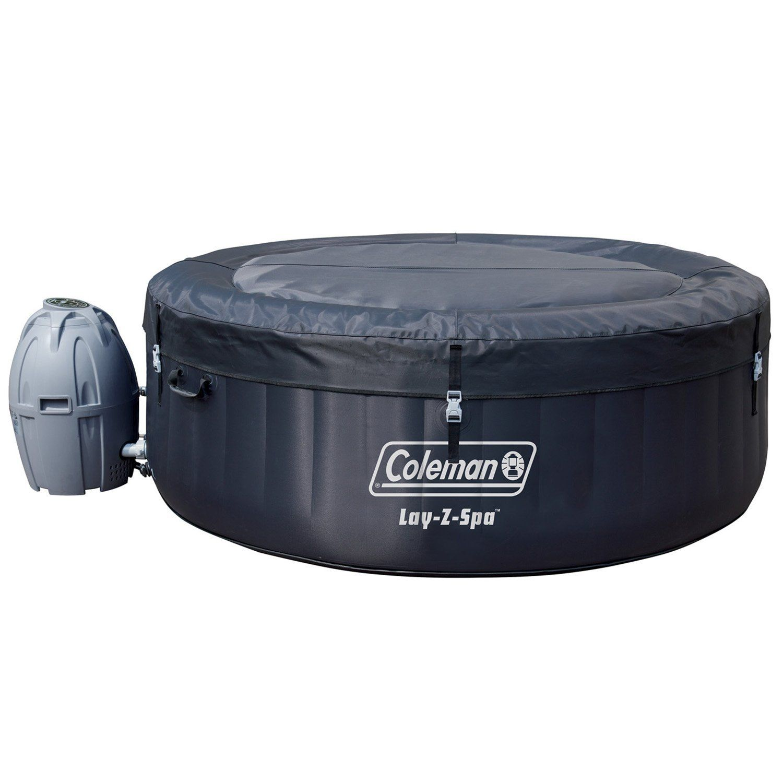 Coleman saluspa 4person portable inflatable outdoor spa