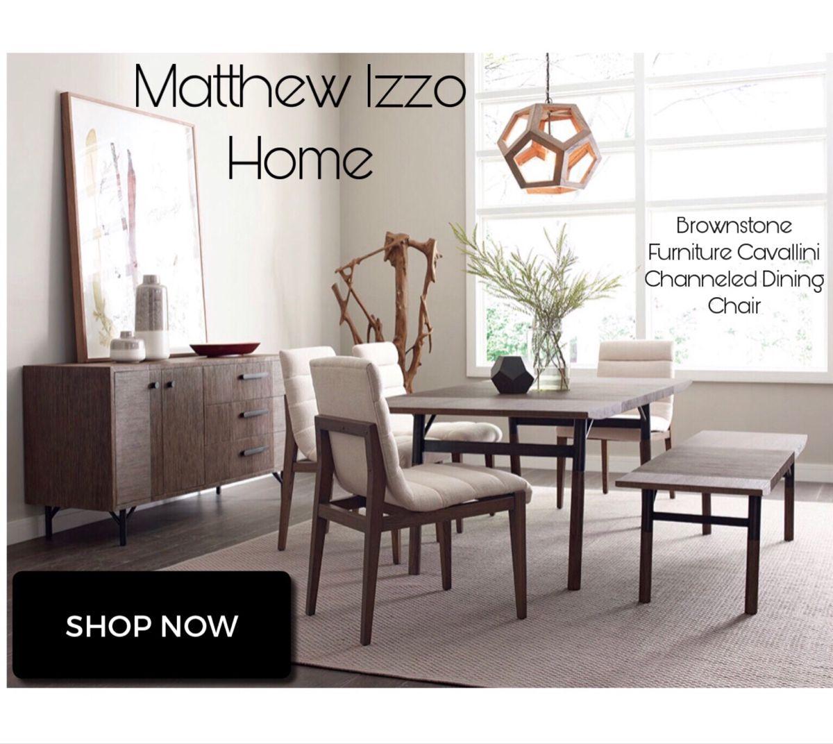 Brownstone Furniture Cavallini Channeled Chair In 2020 Furniture