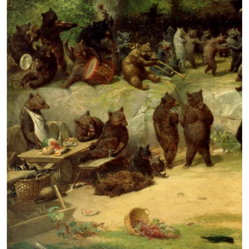 Da bear hodown- by William Holbrook Beard