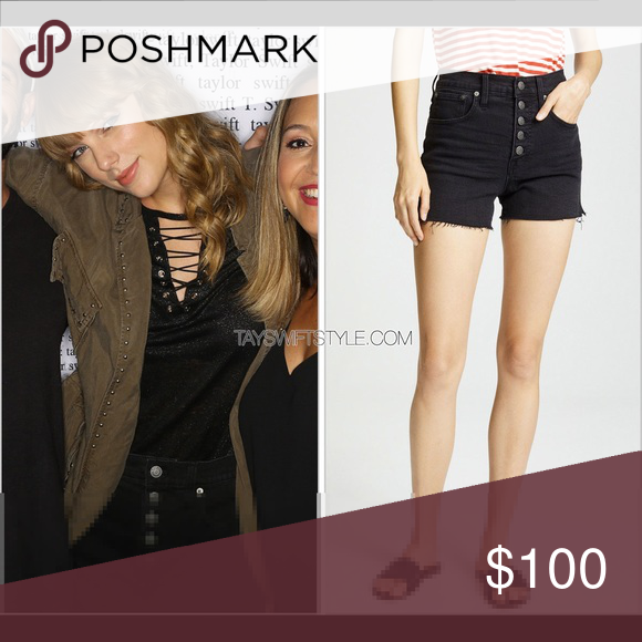d6188cc789 Madewell High Rise Shorts ASO Taylor Swift