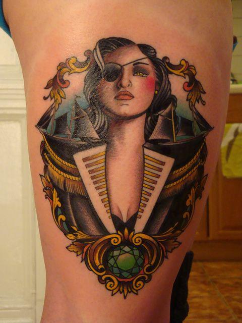 Pirate woman - Seth Wood