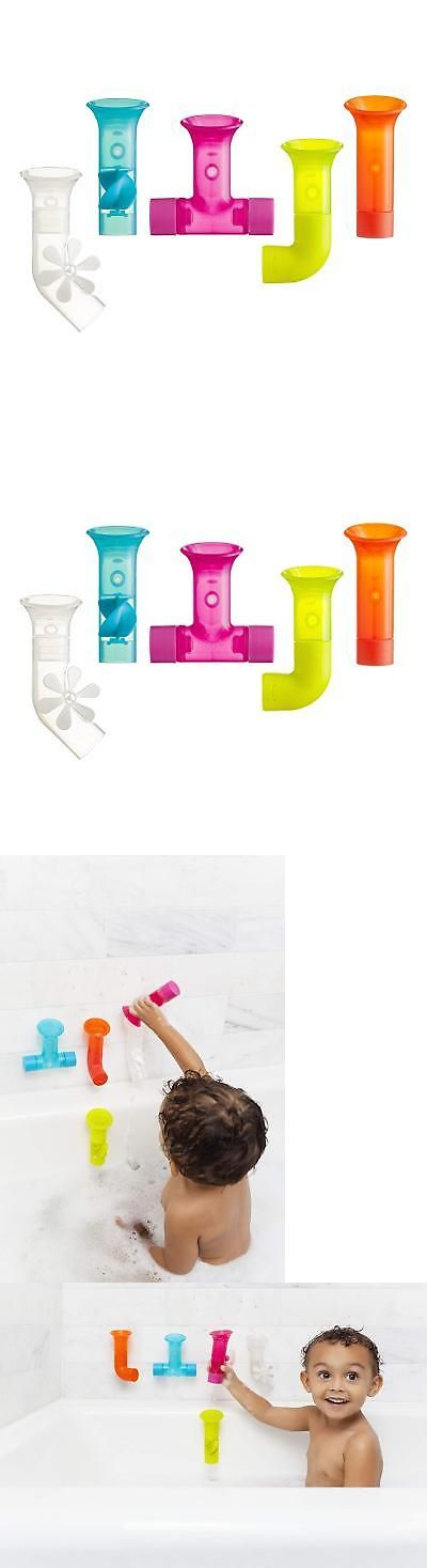 NEW Boon Building Bath Pipes Toy Set Set of 5 FREE SHIPPING