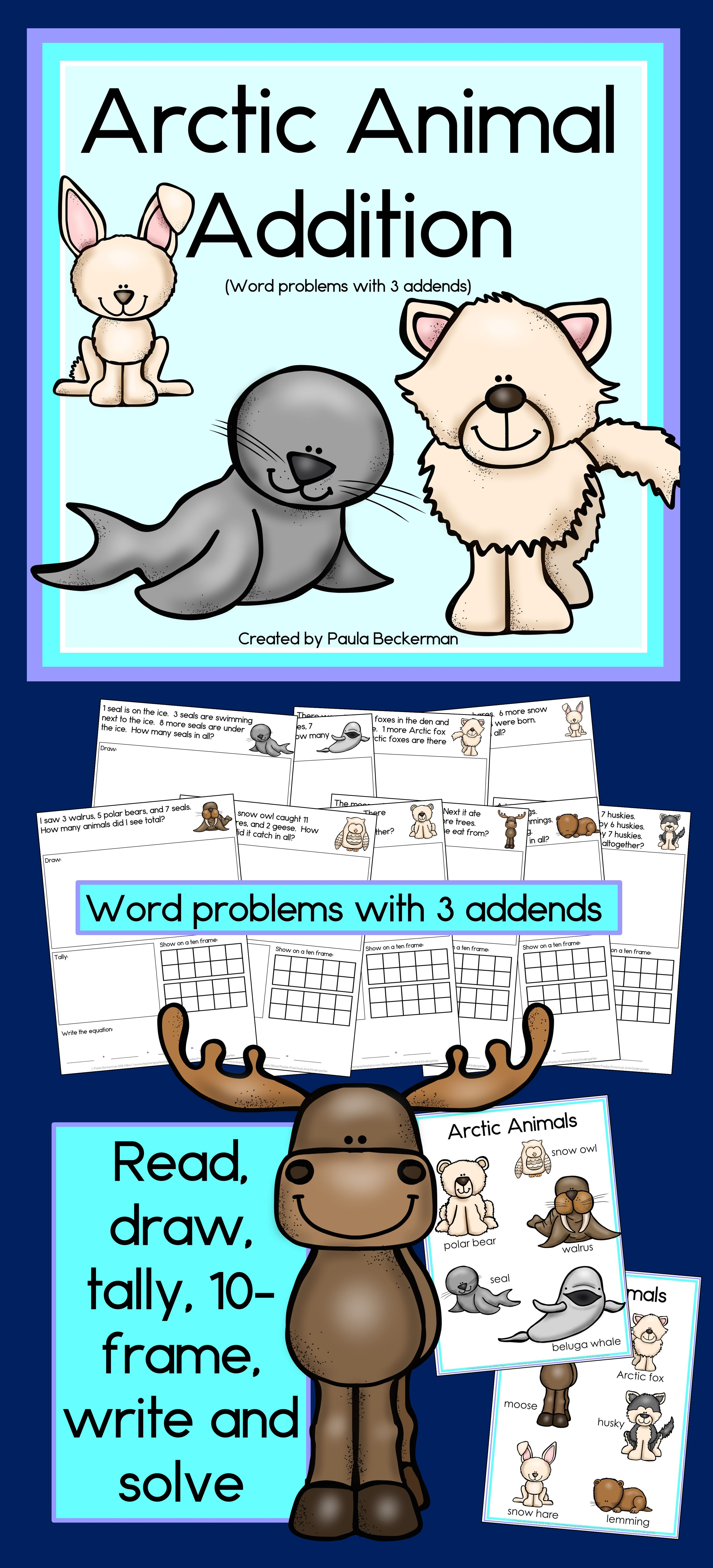 Funky Which Arctic Animals Love Math Worksheet Answers Elaboration ...