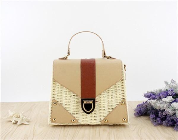8adc218cb8e7 New 2018 Bohemian Straw Bags for Women Beach Handbags Summer Vintage ...