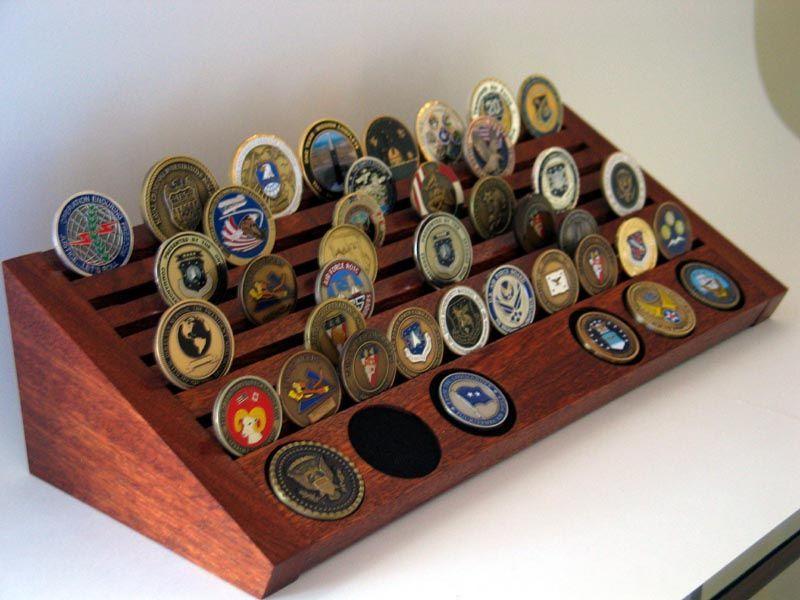 Challenge Coins Display