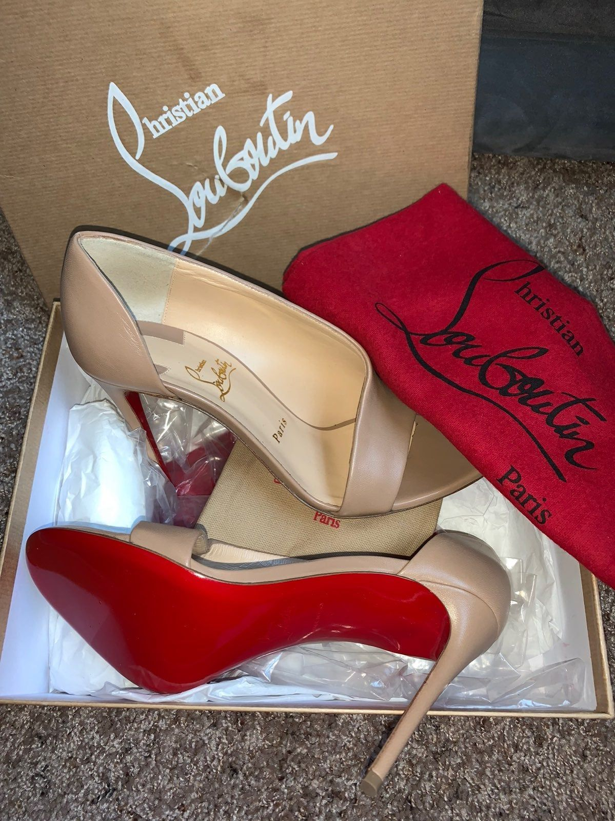 christian louboutin heels on Mercari