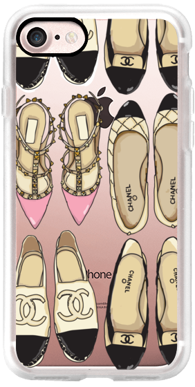 Casetify iPhone 7 Classic Grip Case - Favorite Shoes by Caroline Frierson #Casetify
