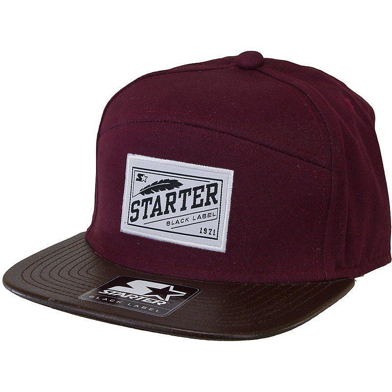 Starter Black Label Pack Cap burgundy  c3346aa778e