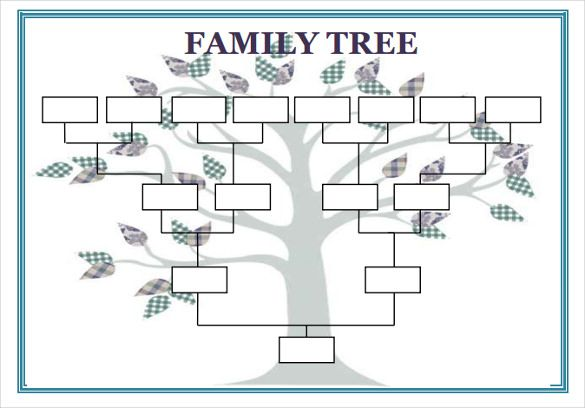 Image result for family tree template Geography Pinterest - family tree template