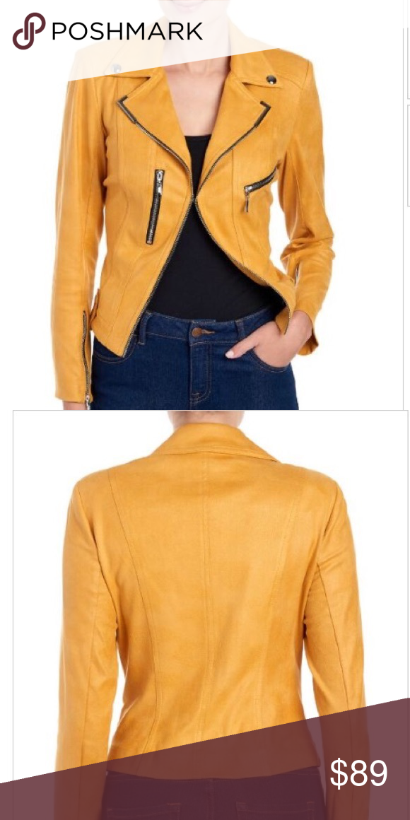 Lena Gabrielle Moto Jacket with Zippers Size 8 Lena Gabrielle vegan ... 77648c1300d67