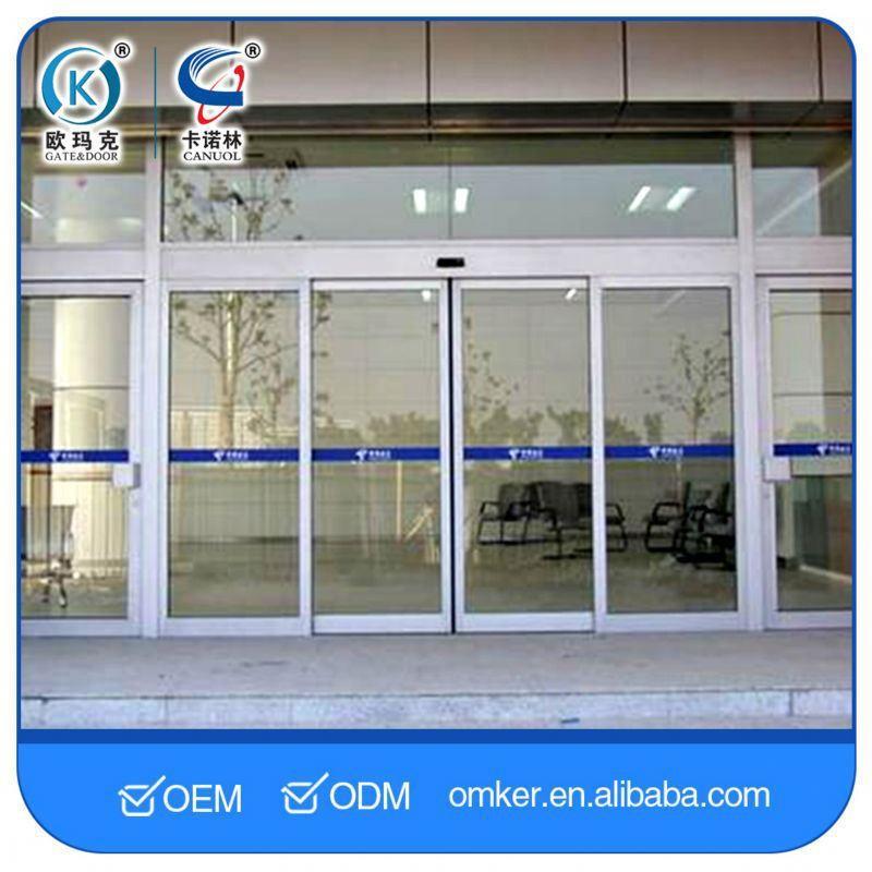 Long Service Life Auto Sliding Glass Doors Automatic