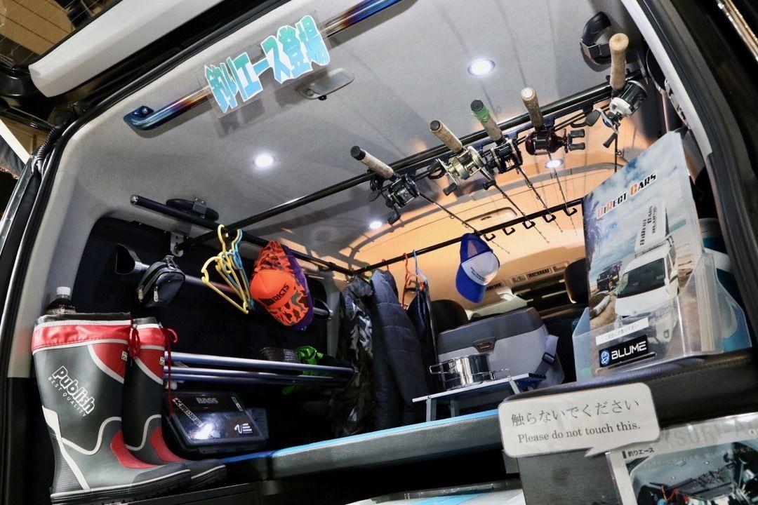 ダイレクトカーズ ハイエース 車両名 釣りエース ベース車両 Toyota