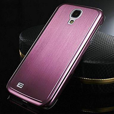 [XmasSale]0.5mm Thin Brushed Aluminum Hard Case for Samsung Galaxy S4 I9500 - USD $ 6.46