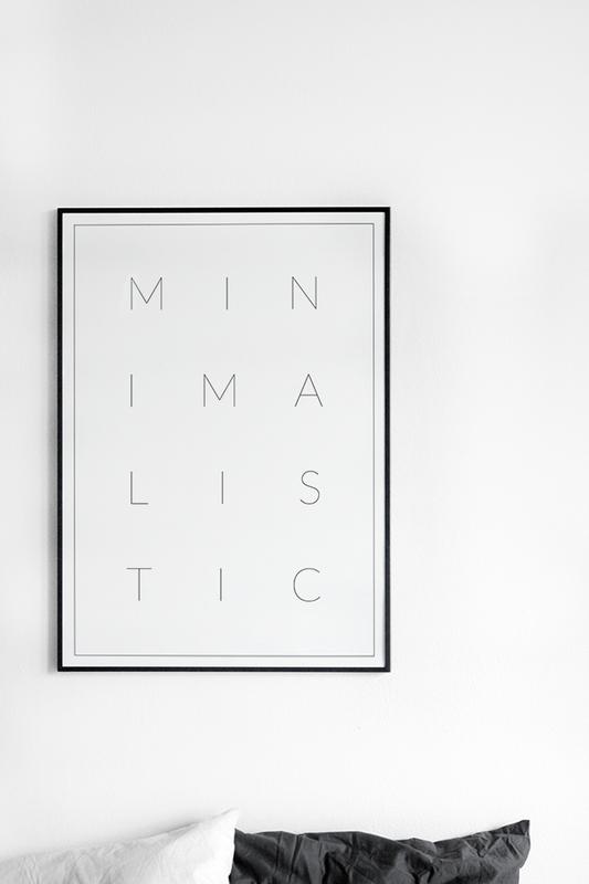 Minimalistic Poster, Minimalist, Minimalism, Minimal,