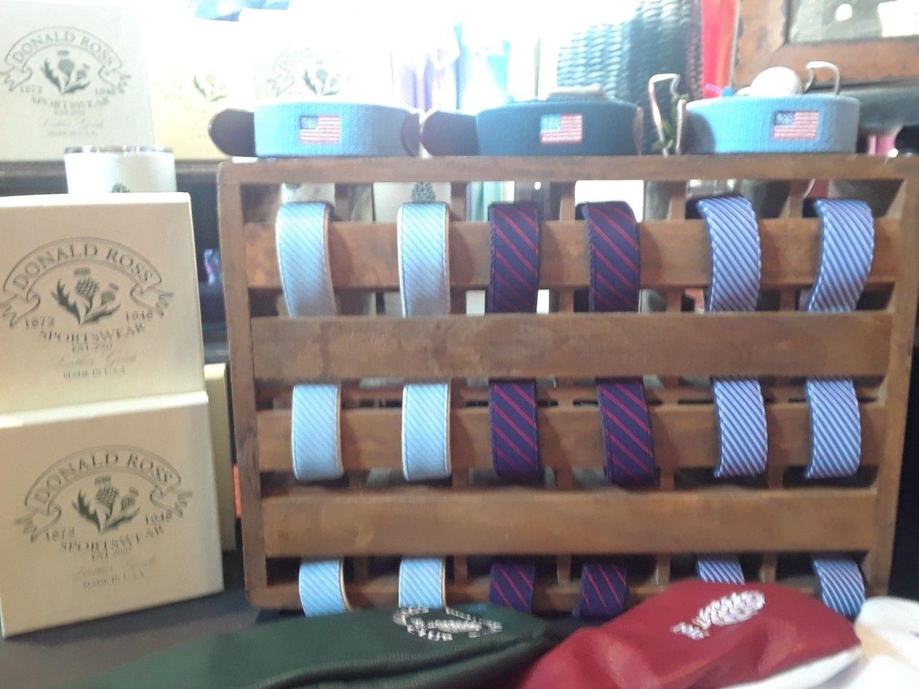 Retail belt display   Belt display, Merchandise, Display