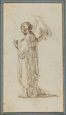 Rembrandt  Angel Standing