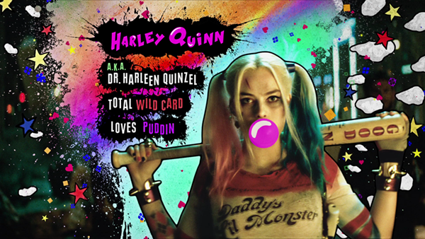 Margot Robbie as Harley Quinn in a promo for Suicide Squad HD Wallpaper and  background photos of Suicide Squad - Advance Ticket Promo - Harley Quinn  for ...