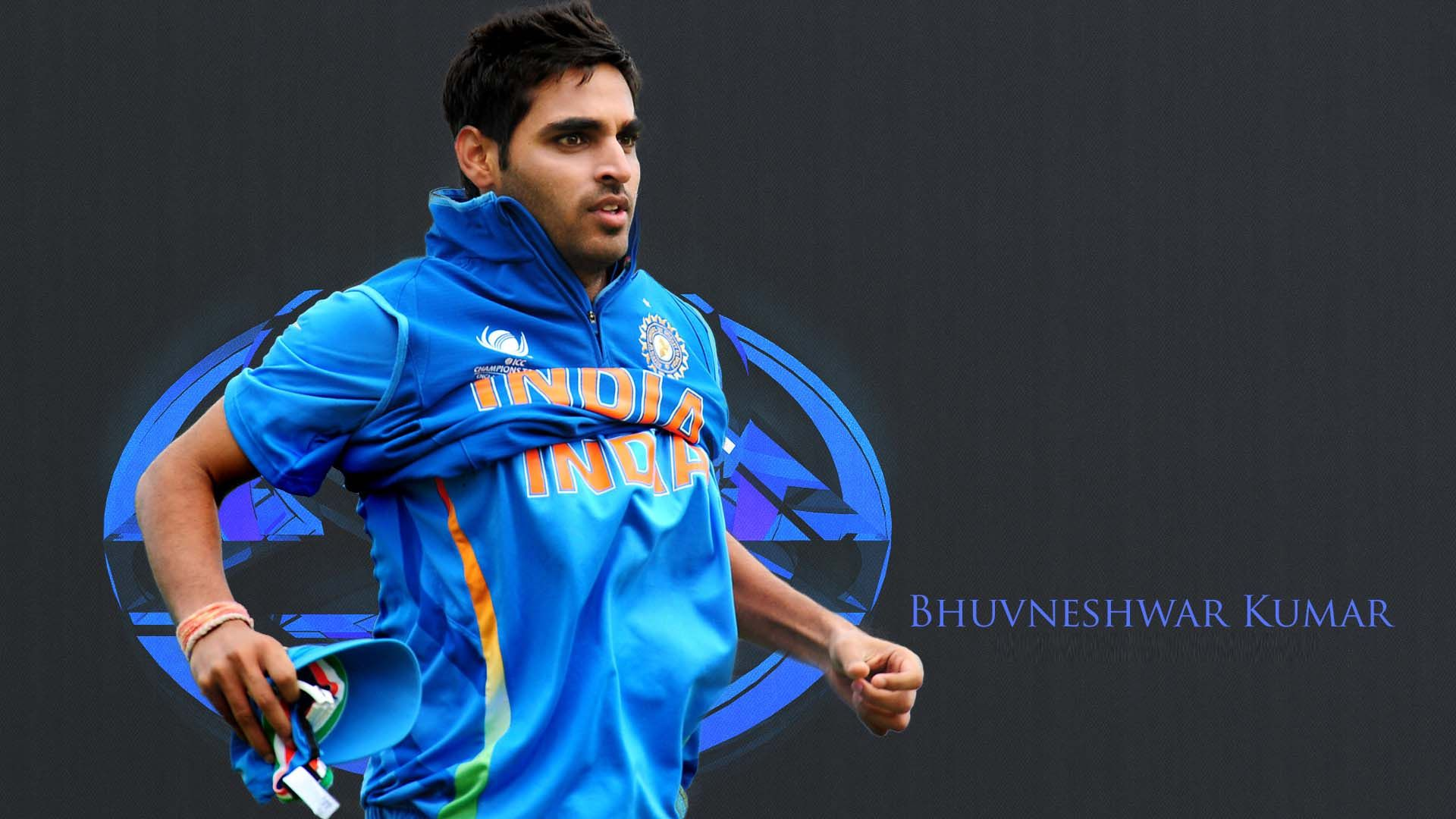 Hd wallpaper cricket - Bhuvneshwar Kumar Indian Cricketer Hd Wallpaper Indian Cricketer Wallpaper Cricket Bat Ball Ravindra Jadeja Virat Kohli Suresh Raina Mahe