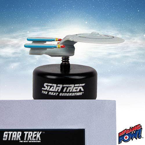Pré-Encomenda:  Star Trek TNG Monitor Mate Bobble-Figure USS Enterprise NCC-1701-D 5 cm  Para mais informações clica no seguinte link: http://buff.ly/1fOWkeu  #ToyArt #BifBangPow #StarTrek