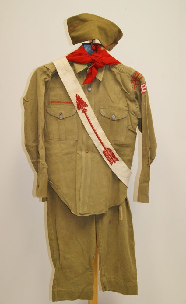 from Gregory boy scouts class a uniform