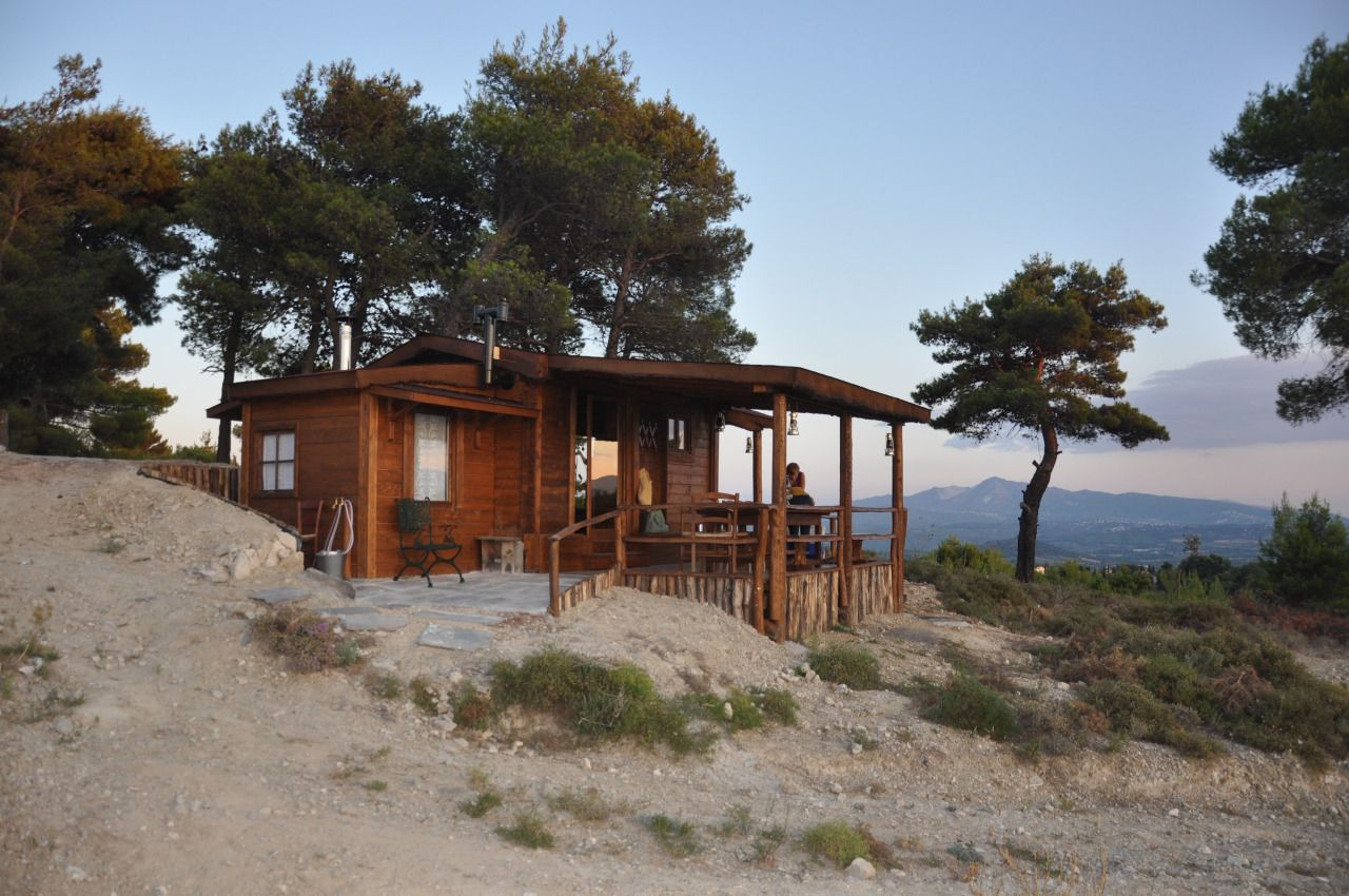 Vineyard Cabin Outside Of Athens, Greece Contributed By Christos Zouras:  U201cMaking A Small Wooden Hut/house Was My Dream Hobby Since I Was A Child.