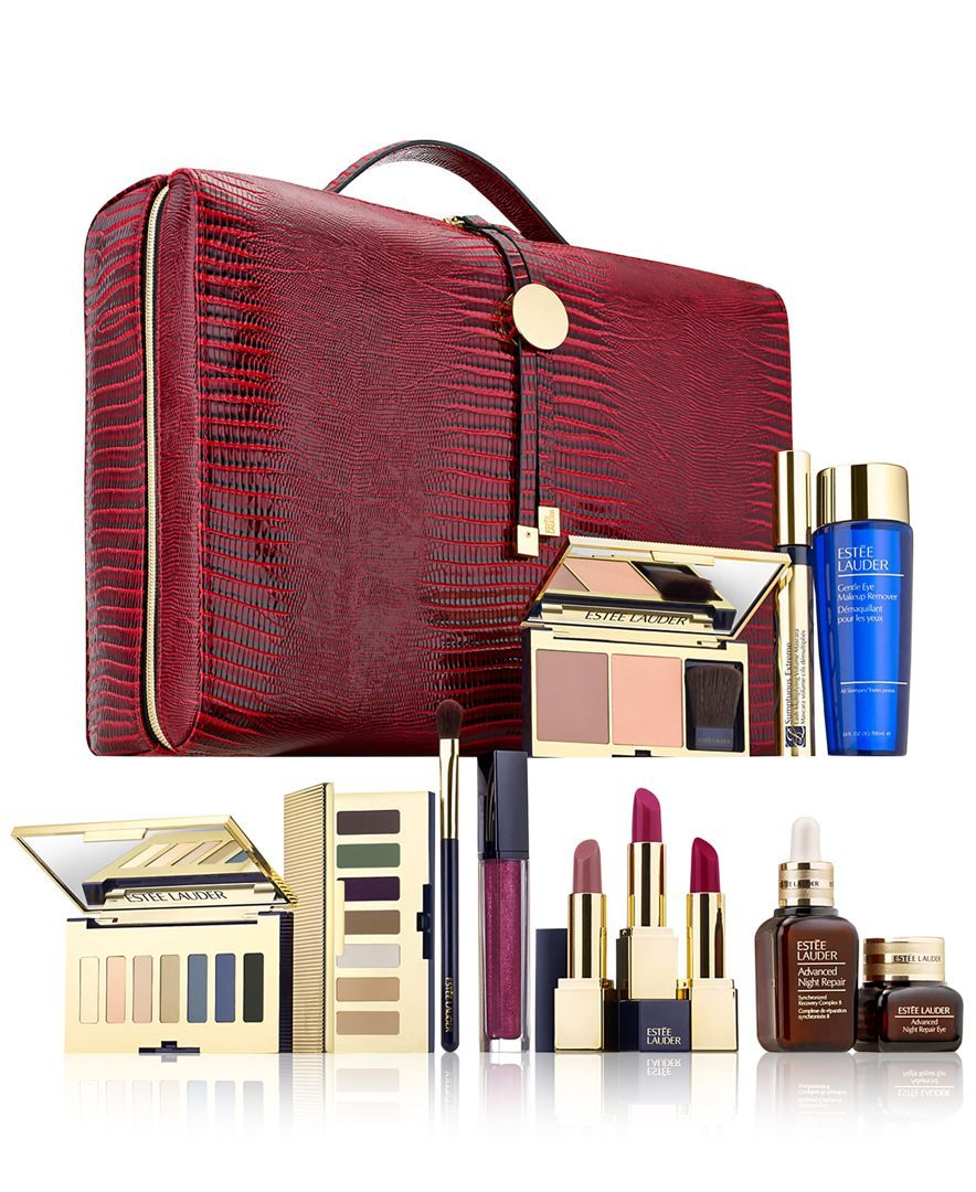 Estee Lauder 26 Pc Blockbuster Set Only 65 With Any 35 Estee Lauder Purchase Products Clinique Gift With Purchase Estee Lauder Free Gift Clinique Gift