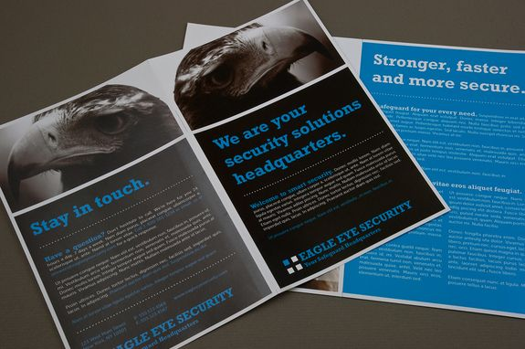 Security Service Brochure Template A Company Rooted In Providing