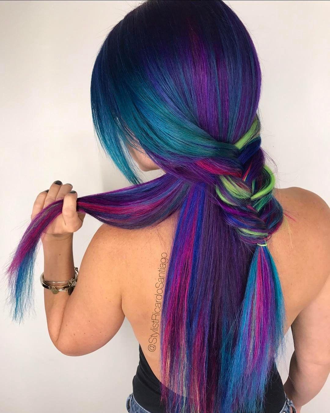 Pin by hair ftw on vibrant hair pinterest santiago orlando and