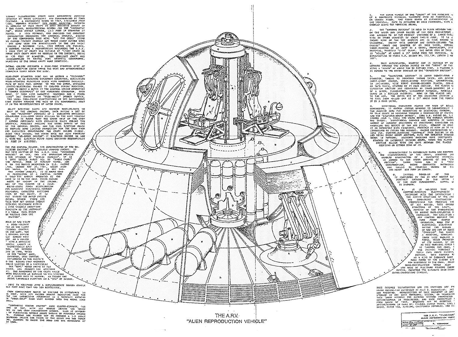 FLYING SAUCER TECH by Christopher Bounds | UFO | Pinterest ...