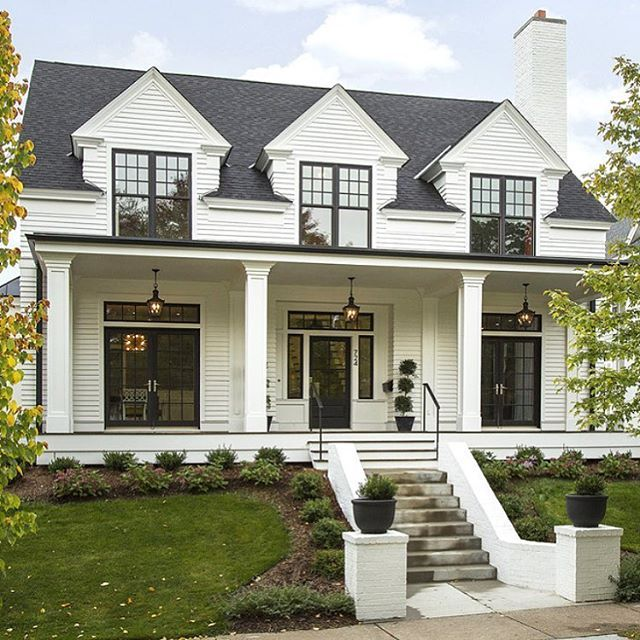 Architecturehome Design: Home Exterior Designs #colonialexterior #homeexterior