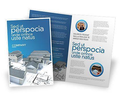 Httpwwwpoweredtemplatecombrochuretemplatesconstruction - House brochure template