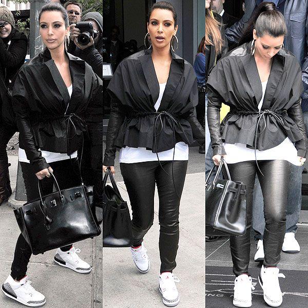 Who Looks Best in Real Deal Sneakers: Kim Kardashian or Jennifer Lopez?