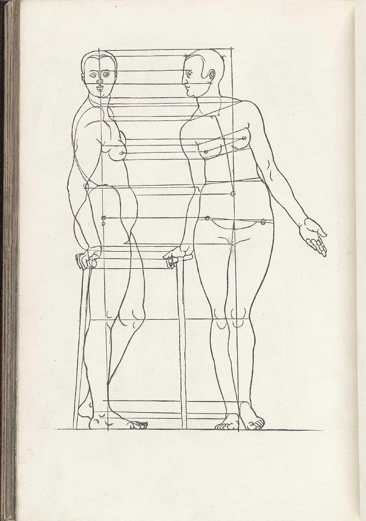 Albrecht Durer: Vier Bücher von menschlicher Proportion | Painting ...