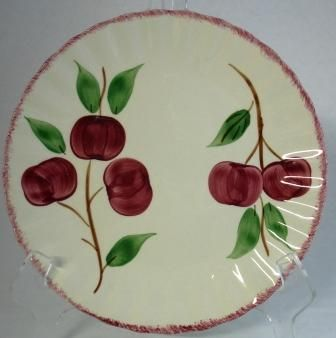 Blue Ridge Pottery Vintage Apple Luncheon Plate $6.00 | Just ...