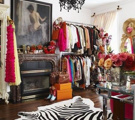 an entire room to store and display clothing