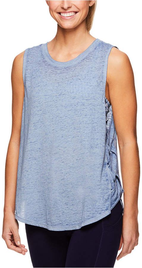 Gaiam Girls All of The Above Tank and Short Set